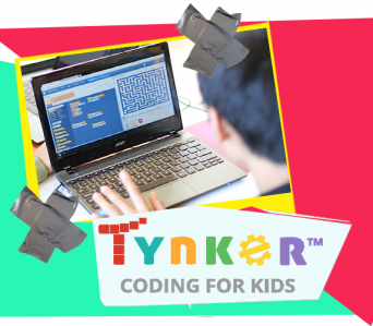 Tynker on tablet Level 2